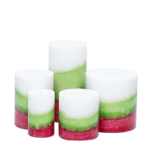 christmas splendor holiday candles
