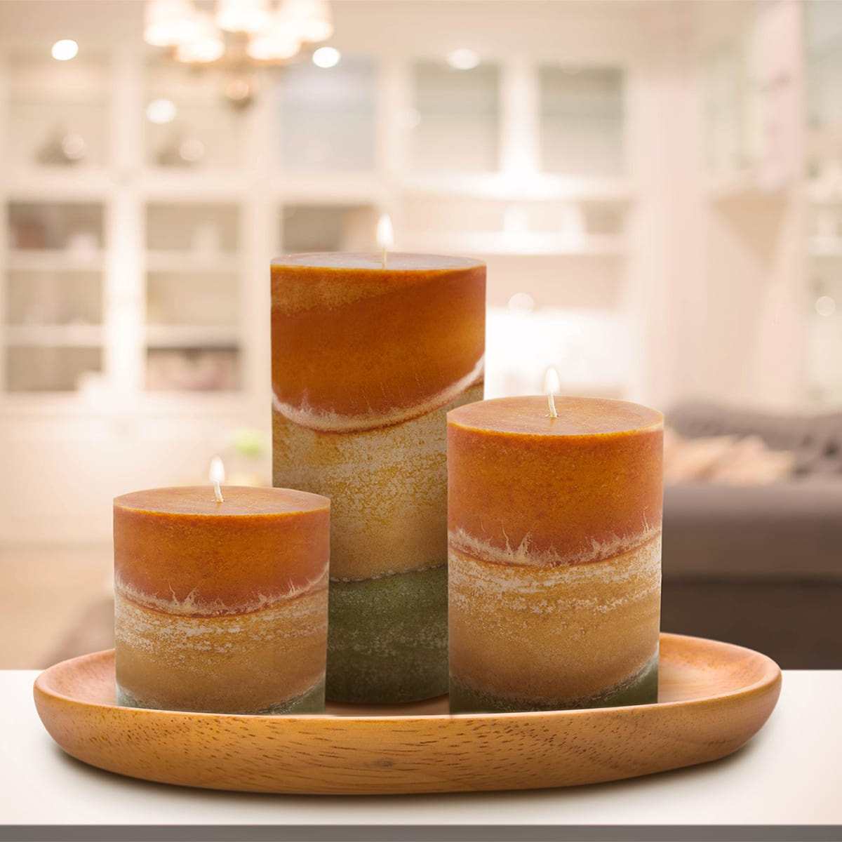 Coral Scented Candle