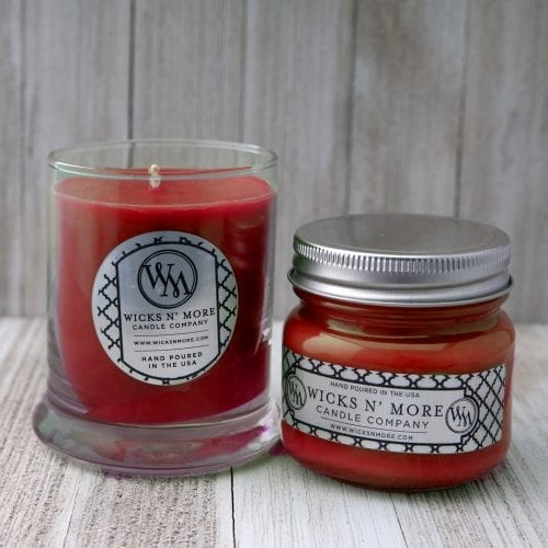 christmas splendor jar candle