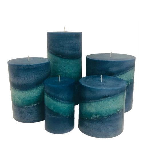 exotic berry pillar candles