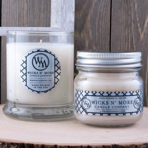 first snow jar candles